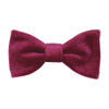 Velvet in Mulberry Bow Tie