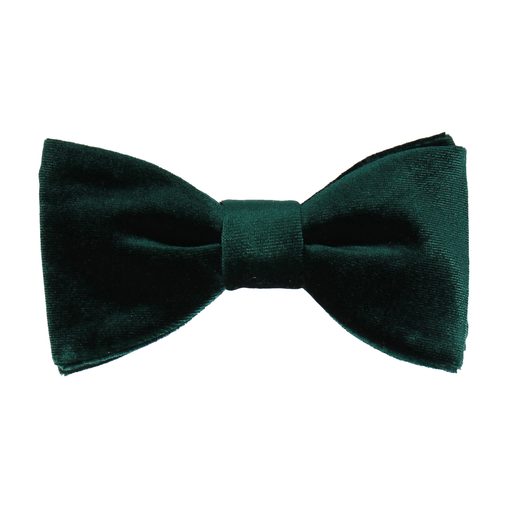 Velvet in Jade Green Bow Tie