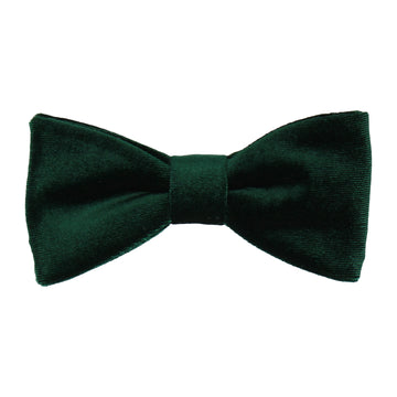 Forest Green Velvet Bow Tie