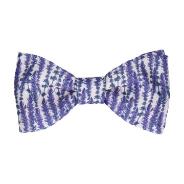 Lavender Meadow Bow Tie