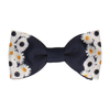 Floral Edge in Daisies Bow Tie