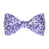 Cherry Blossom in Purple Bow Tie