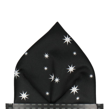 Pullman in Black Pocket Square (Outlet)