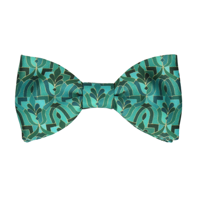 Casablanca Jade Green Bow Tie