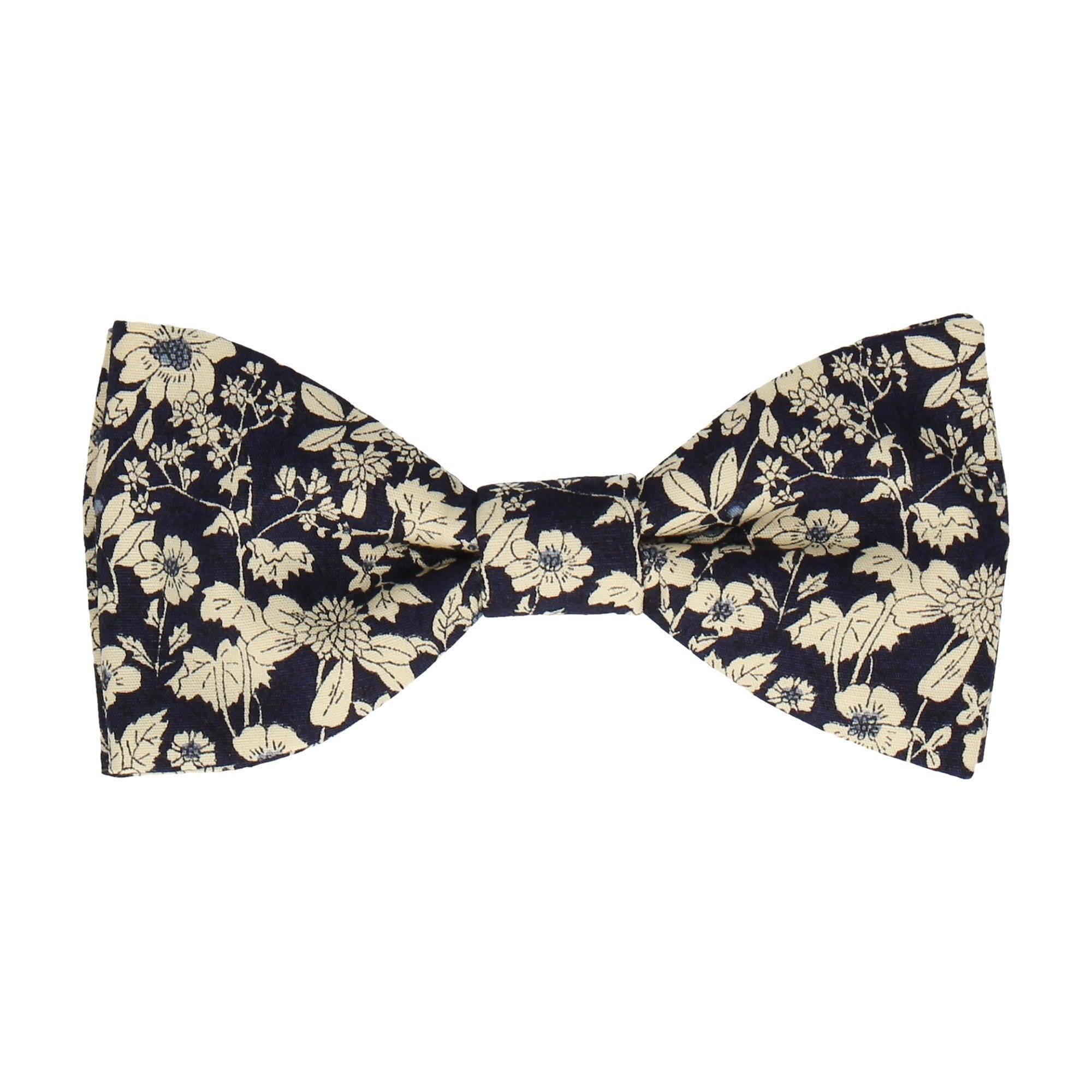 Charlton in Navy Bow Tie