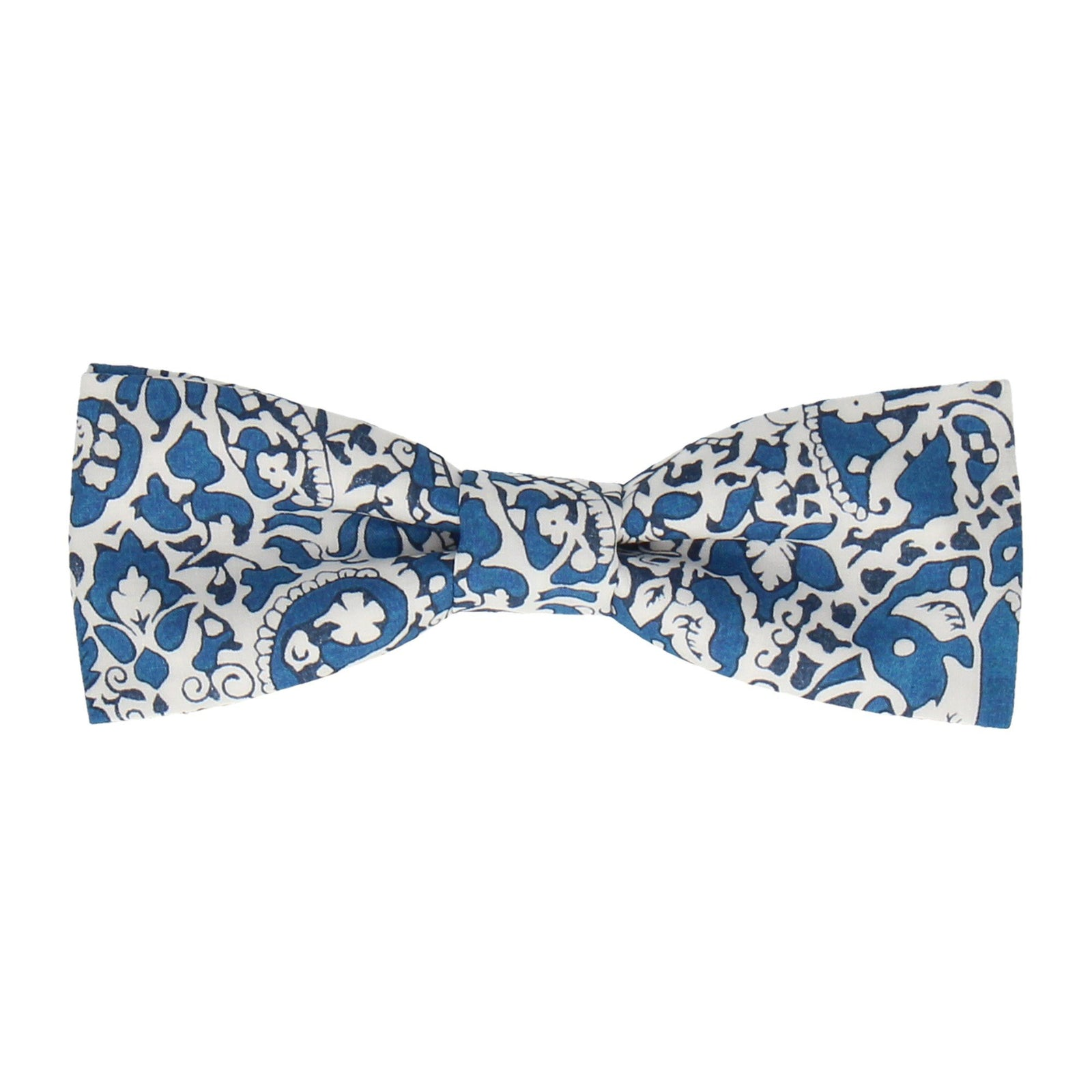 Lagos Laurel Blue Bow Tie