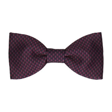 Doctor Who Bow Tie Replica | Burgundy Weave | Eleventh Doctor