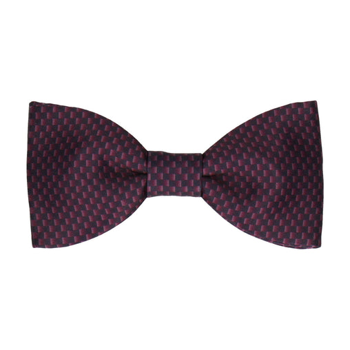 Dr Who Replica (Burgundy Weave) Bow Tie