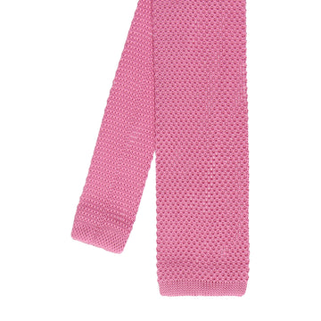 Knitted Tie in Pink
