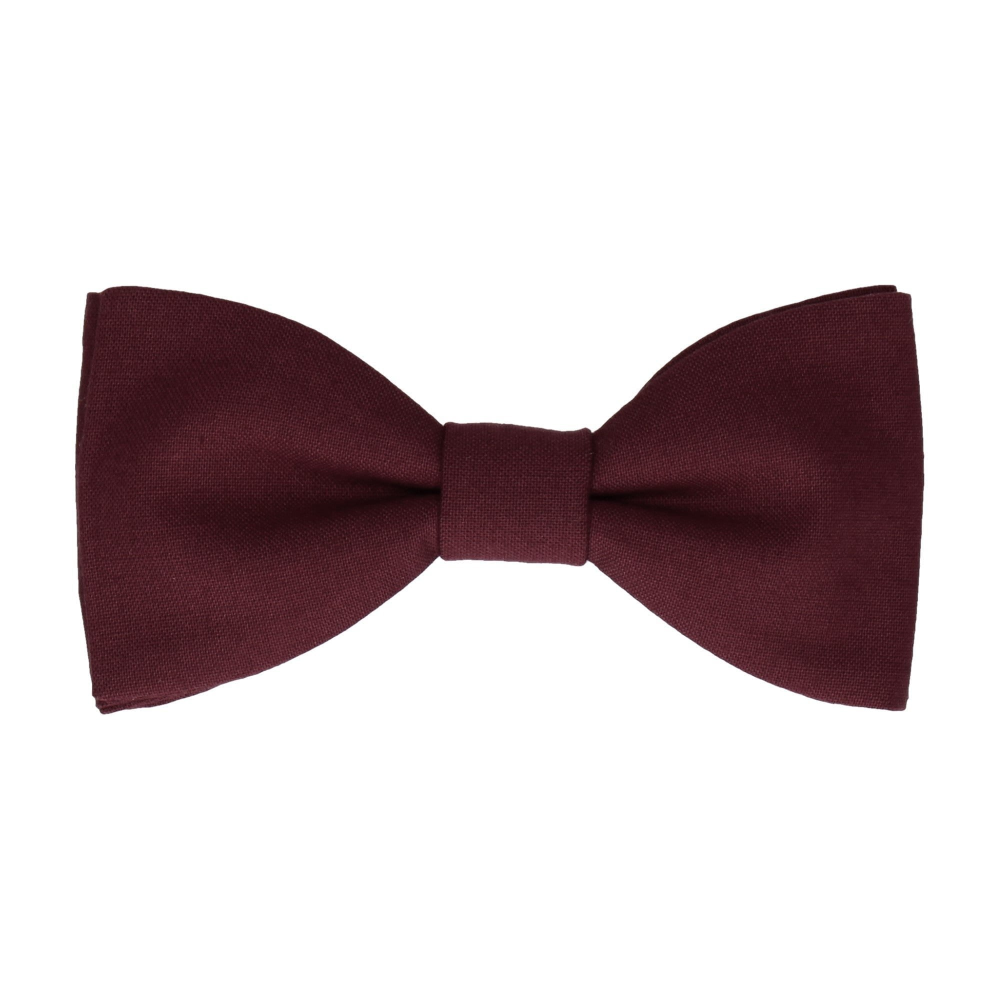 Cotton Port Red Bow Tie