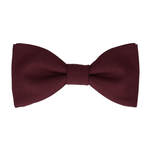 Cotton in Port Bow Tie