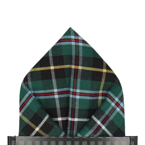 Glenfinnan in Green Pocket Square