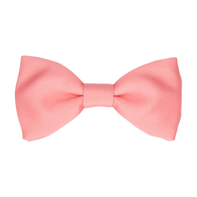 Classic in Soft Coral Bow Tie