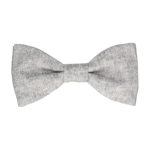 Cotton in Grey Marl Bow Tie