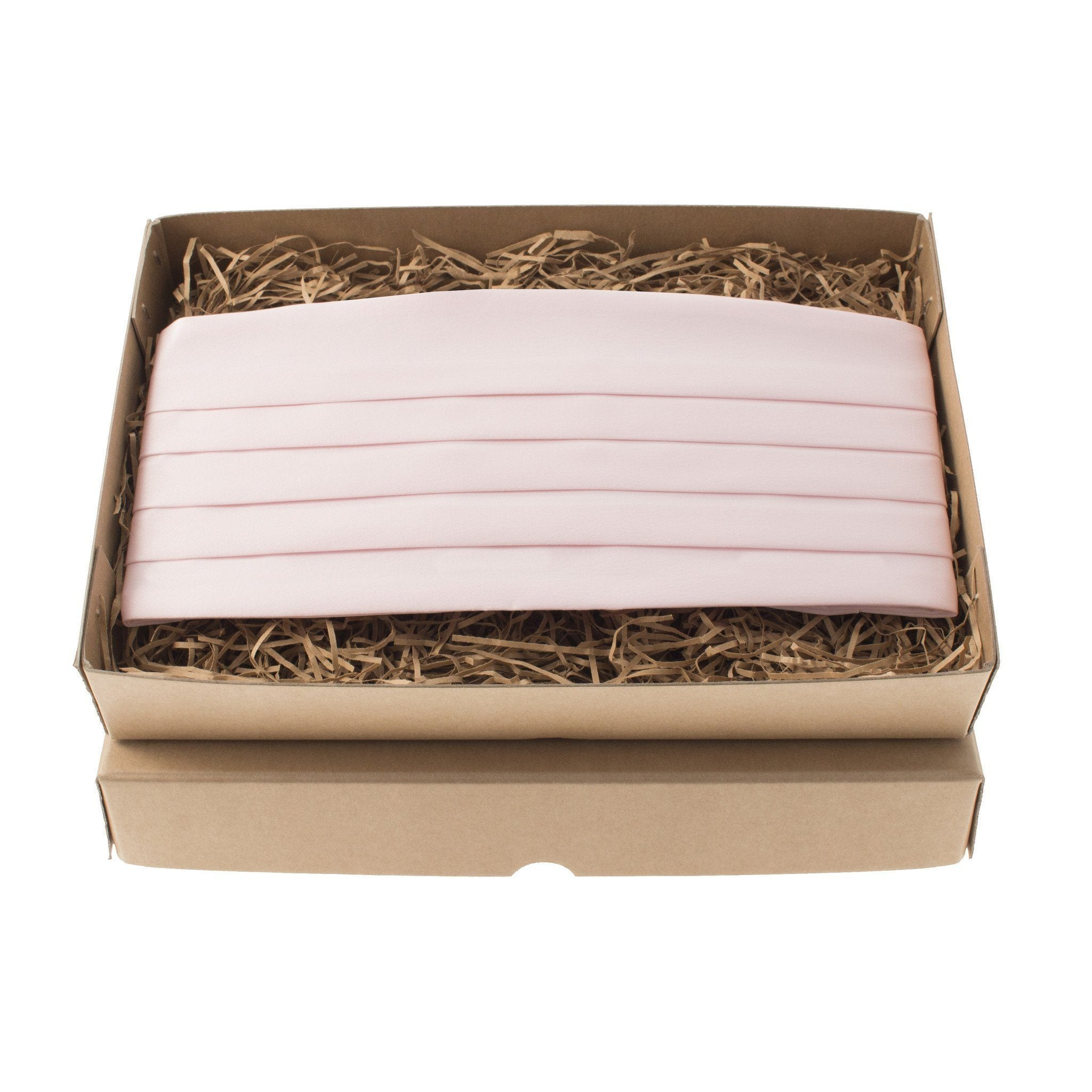 Satin in Pale Pink Cummerbund
