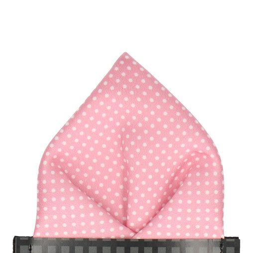 Pin Dots in Blush Pocket Square (Outlet)