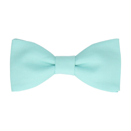 Cotton in Aqua Bow Tie
