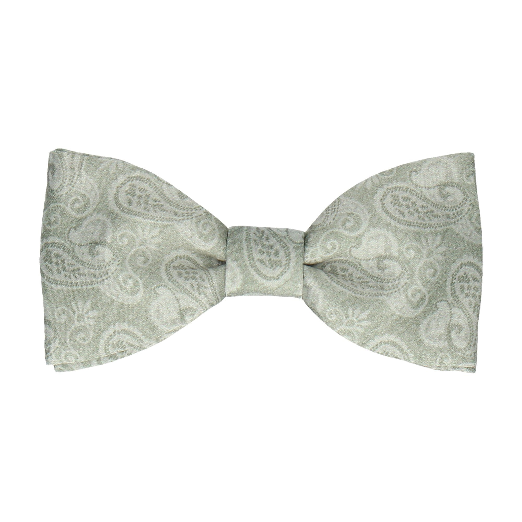 Shelley in Sage Green Bow Tie