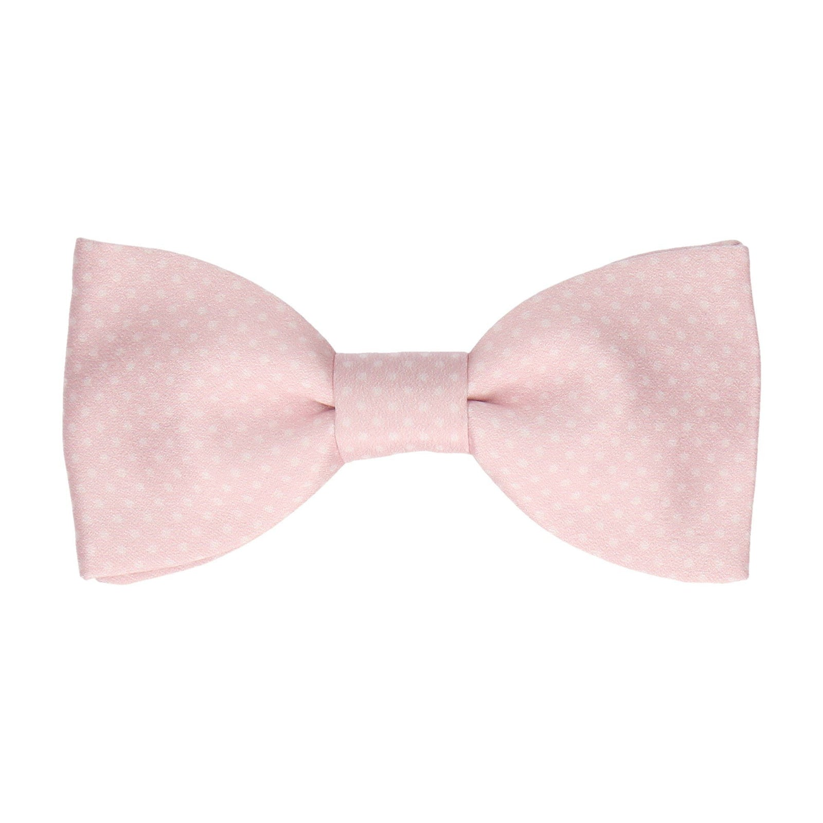 Dickinson Dots Soft Blush Pink Bow Tie (Outlet)