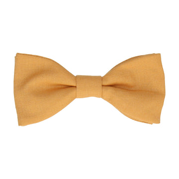 Cotton in Mustard Bow Tie