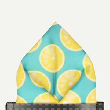 Slices of Lemon Pocket Square (Outlet)