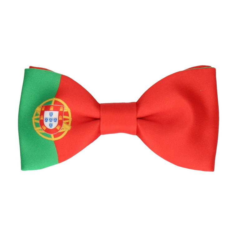 Portugal Flag Bow Tie