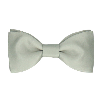 Plain Solid Sage Green Bow Tie