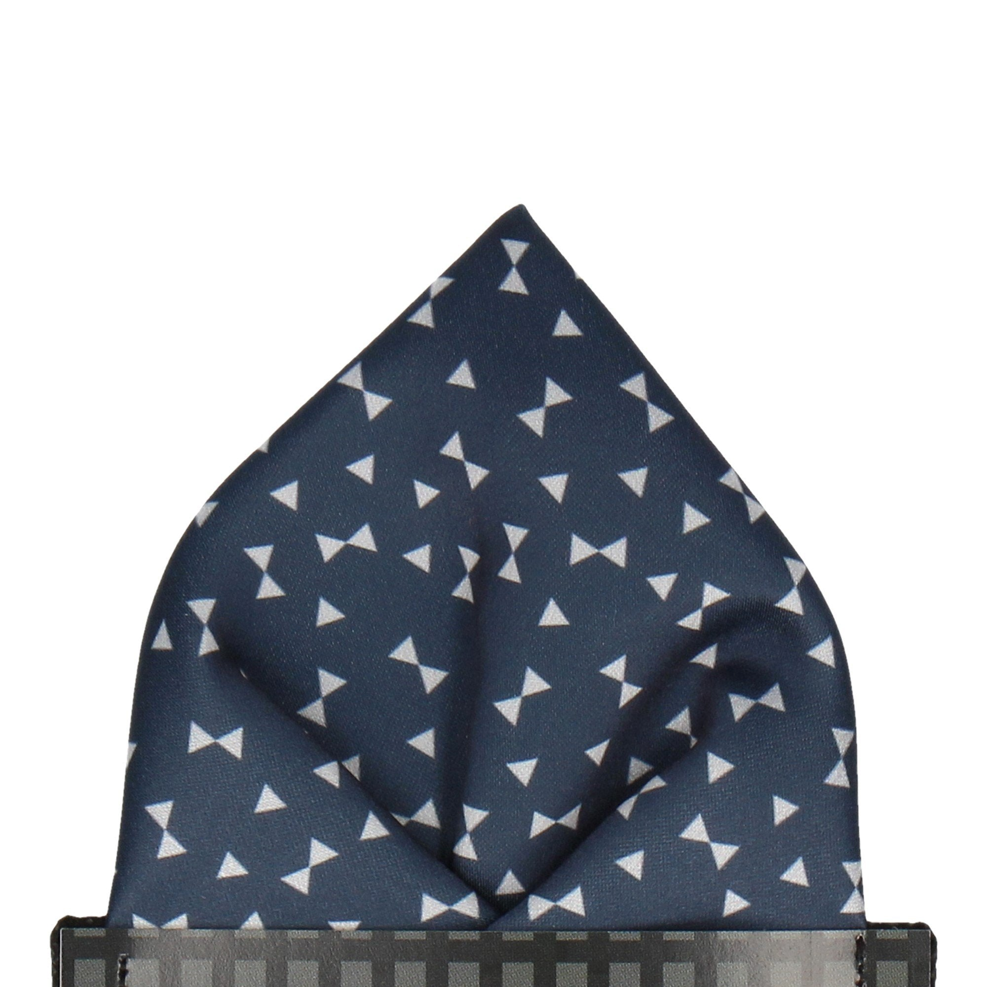 Penmark in Navy Blue Pocket Square