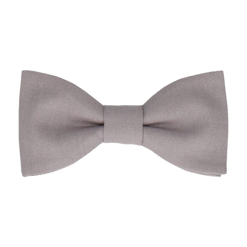 Cotton in Grey Bow Tie