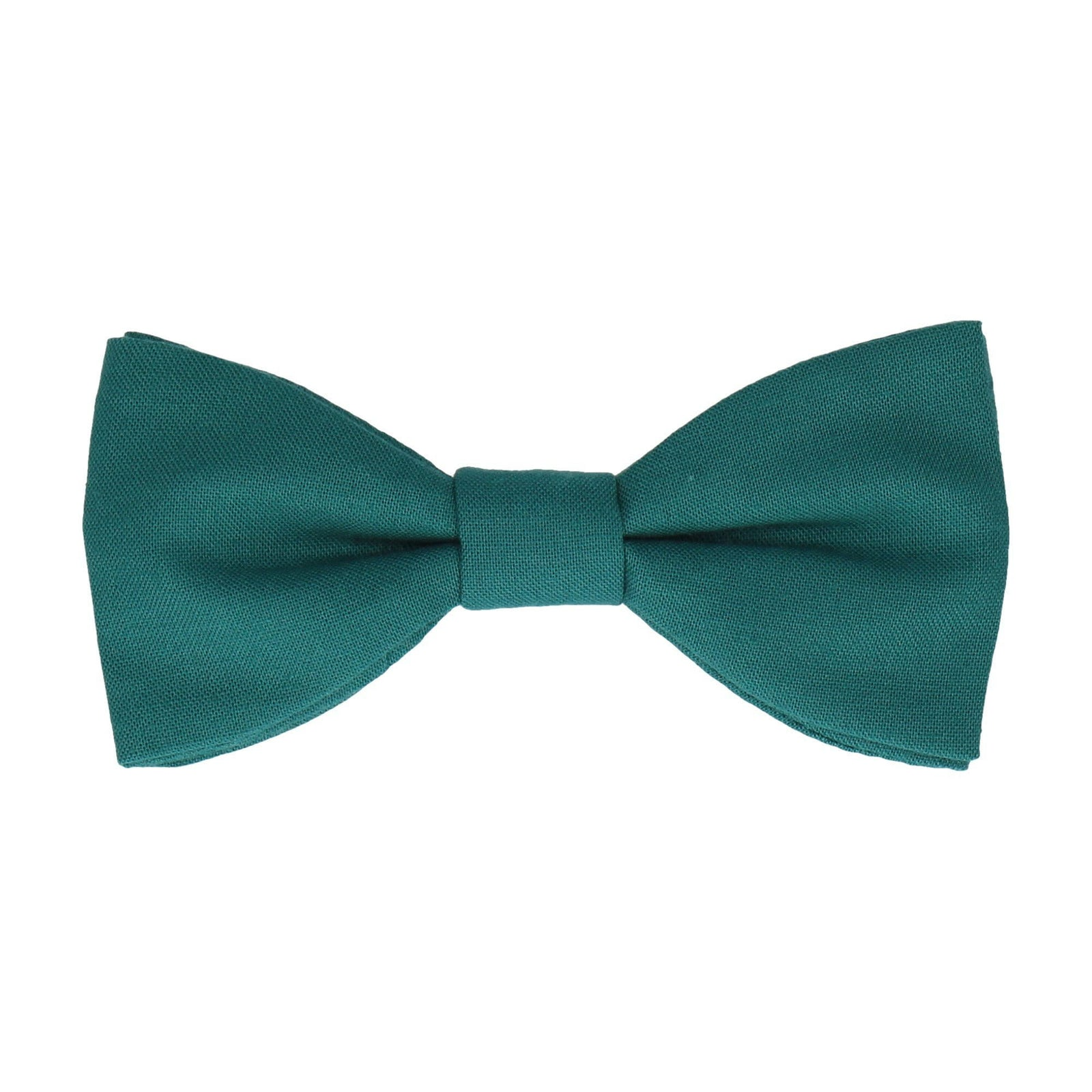 Cotton Everglade Green Bow Tie