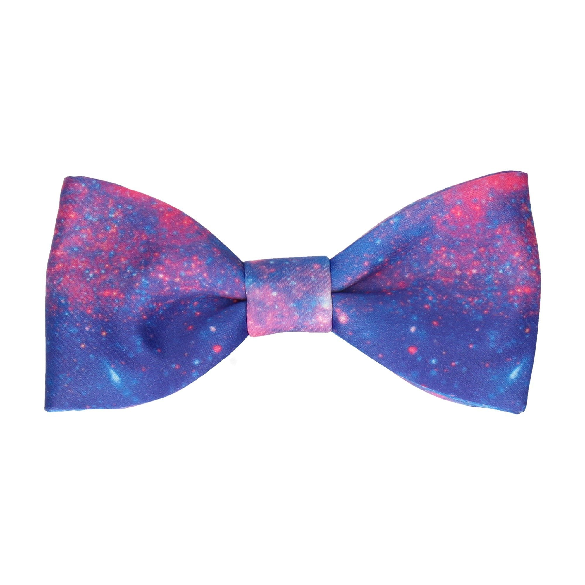 Purple Nebula Bow Tie