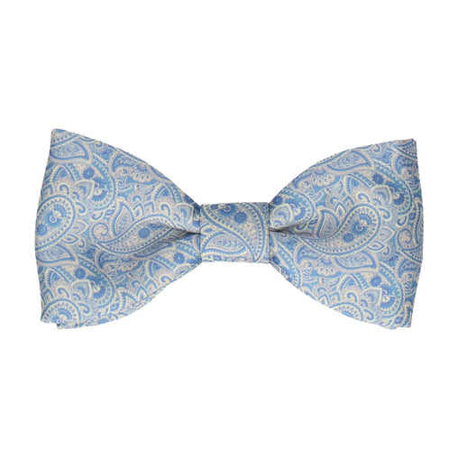 Aberglasney Blue & Lemon Paisley Bow Tie