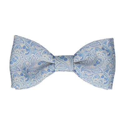 Carisbrooke in Blue & Cream Bow Tie