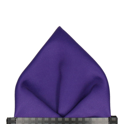 Classic in Purple Pocket Square (Outlet)