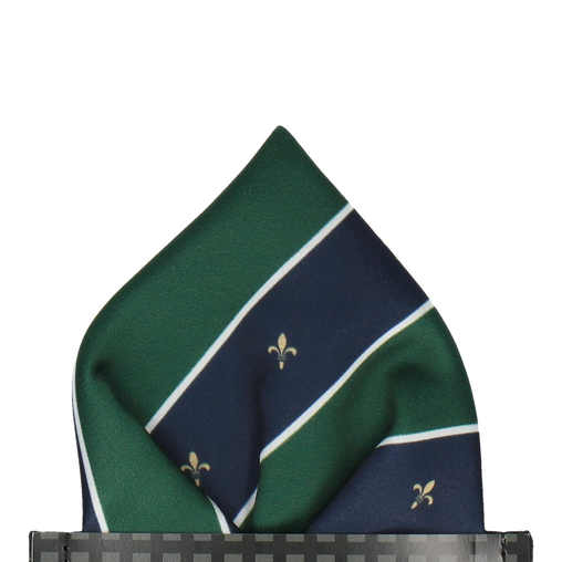 Mountbatten in Green Pocket Square