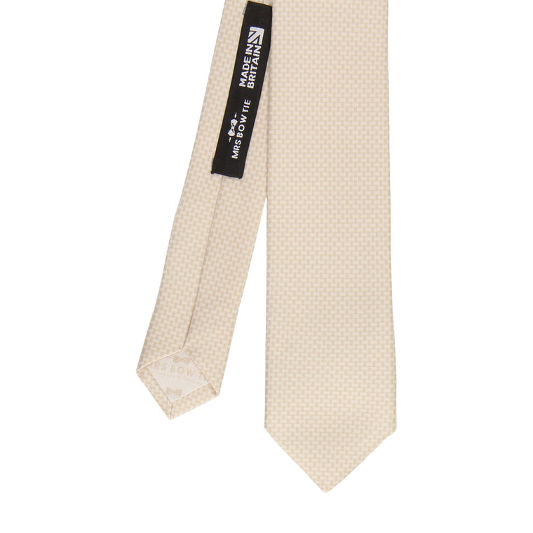 Melville in Champagne Tie (Outlet)