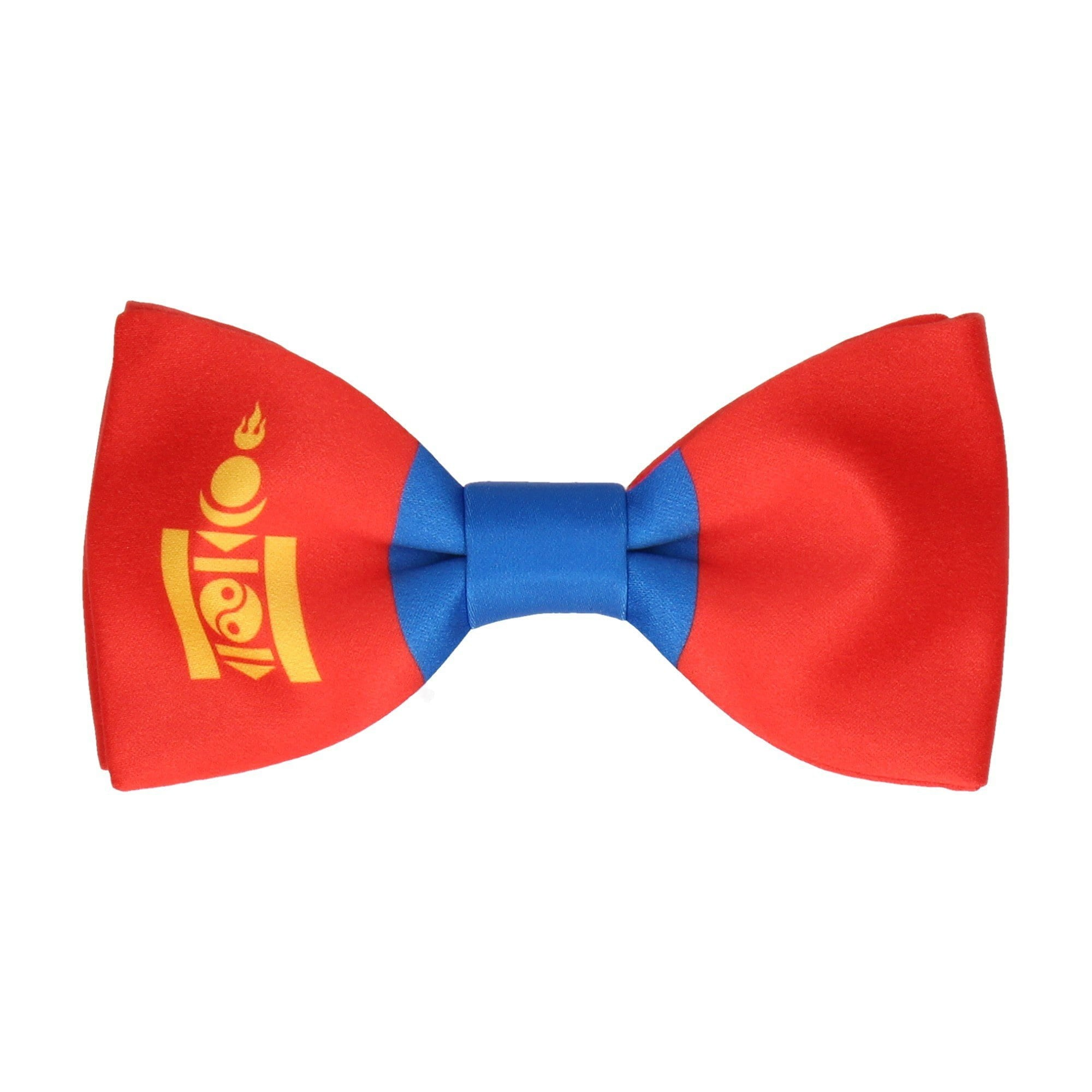 Flag of Mongolia Bow Tie