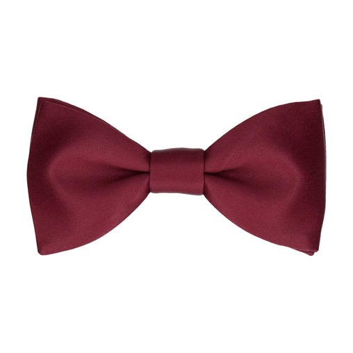 Classic Burgundy Dark Red Bow Tie