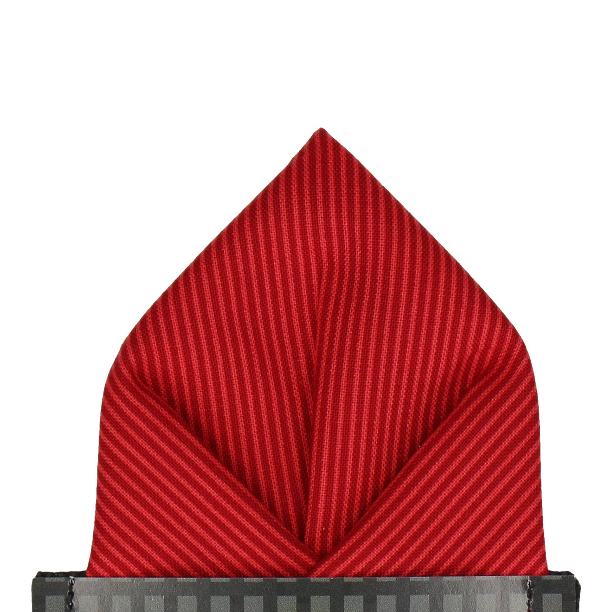 Winchester in Red Pocket Square