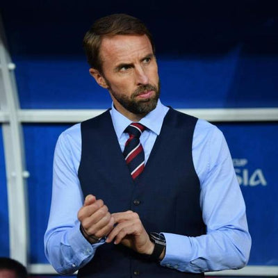 Southgate in Red & Navy Tie