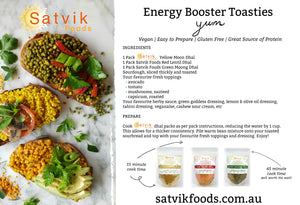 Satvik Energy Booster Toasties