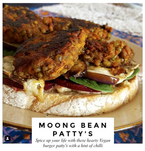 Spiced Moong Bean Patty's