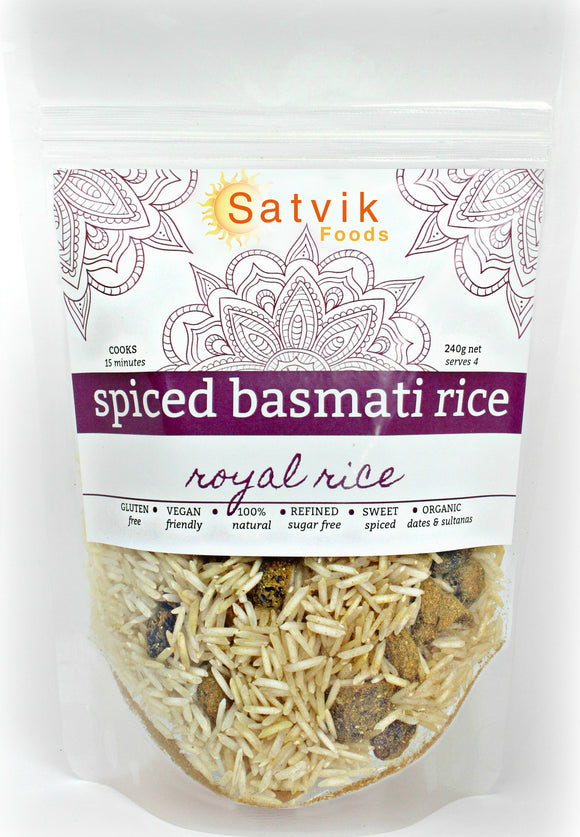 Royal Rice Spiced Basmati
