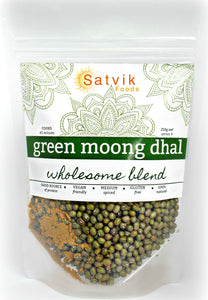 Green Moong Bean Dhal - Wholesome Blend with a touch of chilli