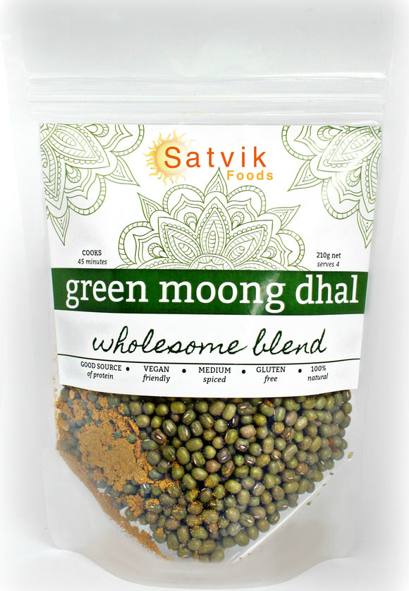 Green Moong Bean Dhal