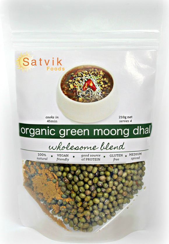 Organic Green Moong Bean Dhal