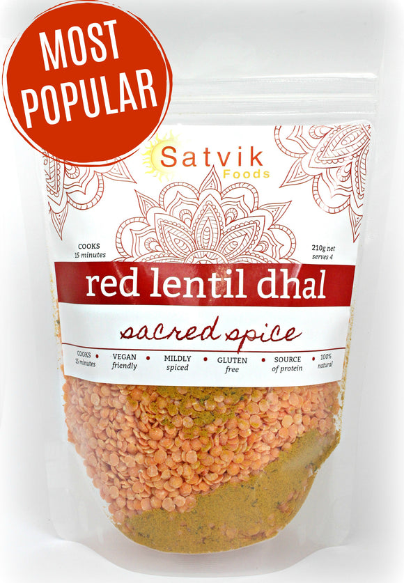 Red Lentil Dhal - easy 15 minute family favourite!