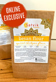 spiced besan flour is versatile gluten free and natural alternative to plain flour