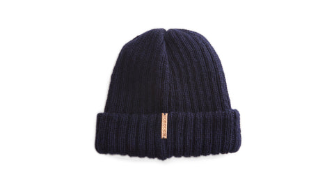 Axxel - 'Monk' Knit Hat - Navy
