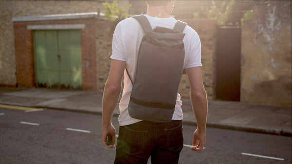 Luke Daypack - Asphalt Grey / Black